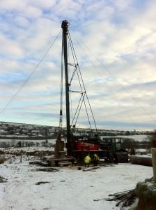 Rushton bucyrus 60RL drilling rig